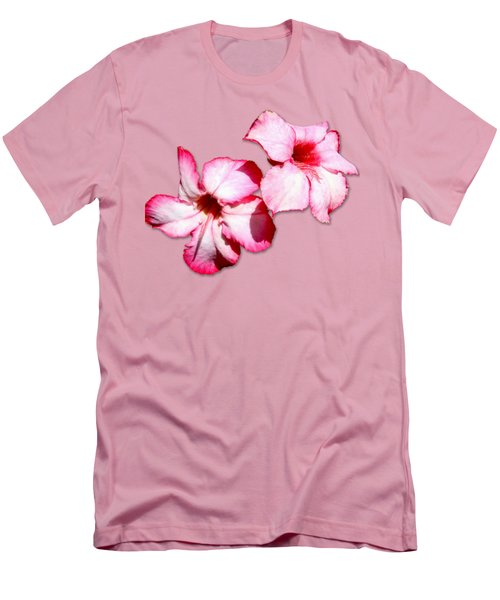 Too Pink Men's T-Shirt (Slim Fit) by Bob Slitzan