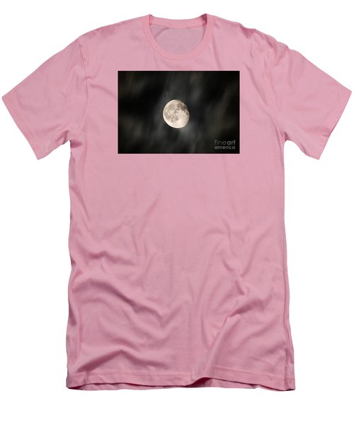 Travelling With Moon Men's T-Shirt (Slim Fit) by Manjot Singh Sachdeva