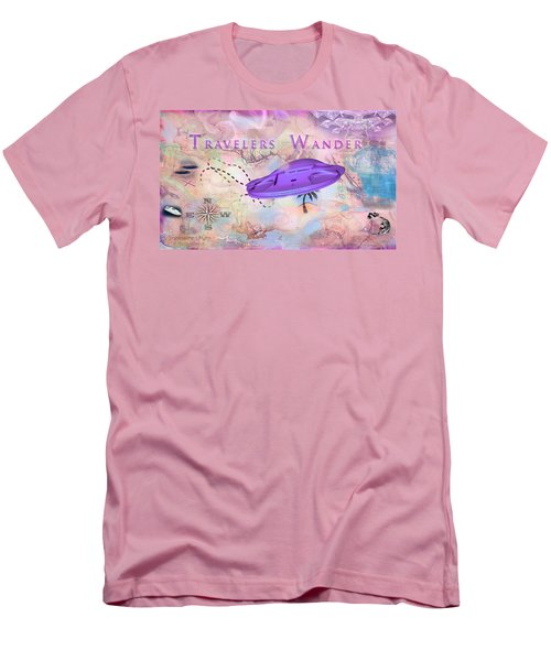 Treasure Map Men's T-Shirt (Athletic Fit)