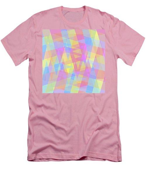 Triangle Jumble 2 Men's T-Shirt (Slim Fit) by Shawna Rowe