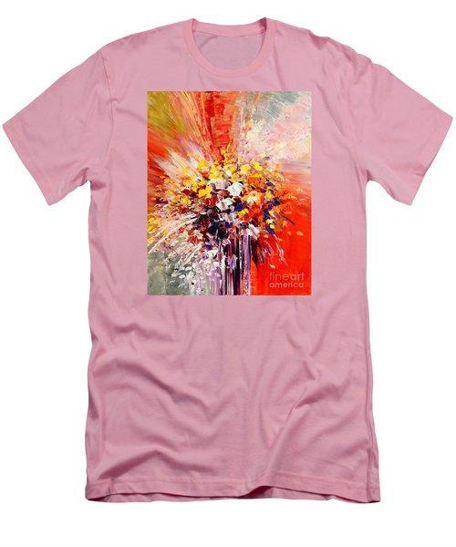 Tropic Intensity Men's T-Shirt (Slim Fit) by Tatiana Iliina