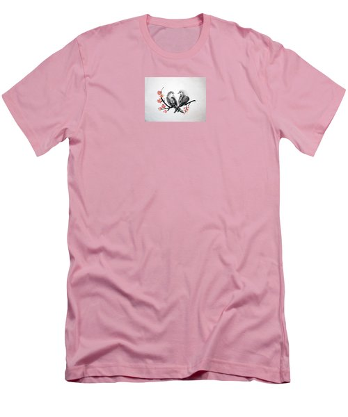 Two Birds Men's T-Shirt (Athletic Fit)