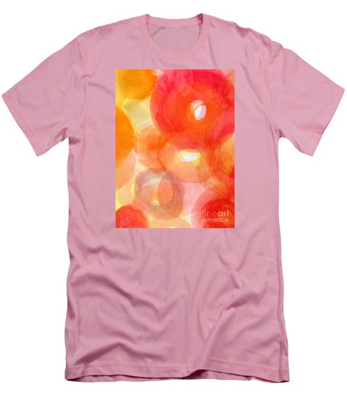 Men's T-Shirt (Slim Fit) featuring the photograph Vibration by France Laliberte