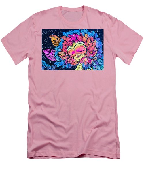Men's T-Shirt (Slim Fit) featuring the photograph Wall Flowers by Colleen Kammerer