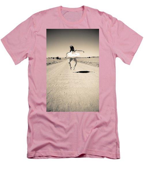 Washboard Ballet Men's T-Shirt (Athletic Fit)