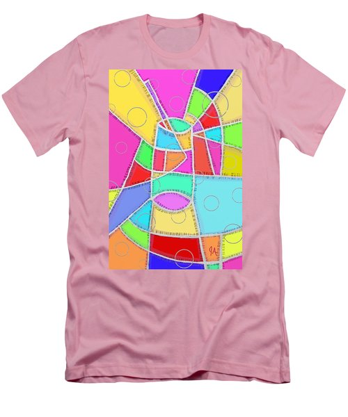 Water Glass Of Light And Color Men's T-Shirt (Slim Fit) by Jeremy Aiyadurai