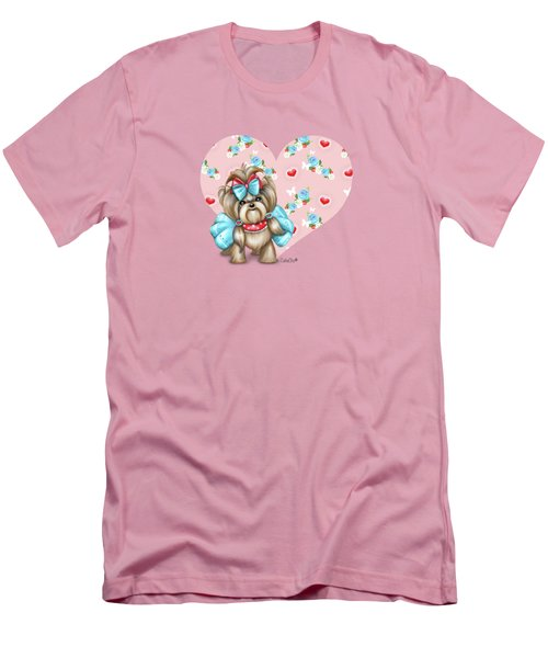 Welcome Spring Men's T-Shirt (Slim Fit) by Catia Cho