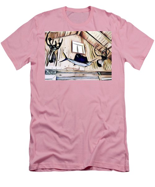 Welcome To The Cabin Men's T-Shirt (Athletic Fit)