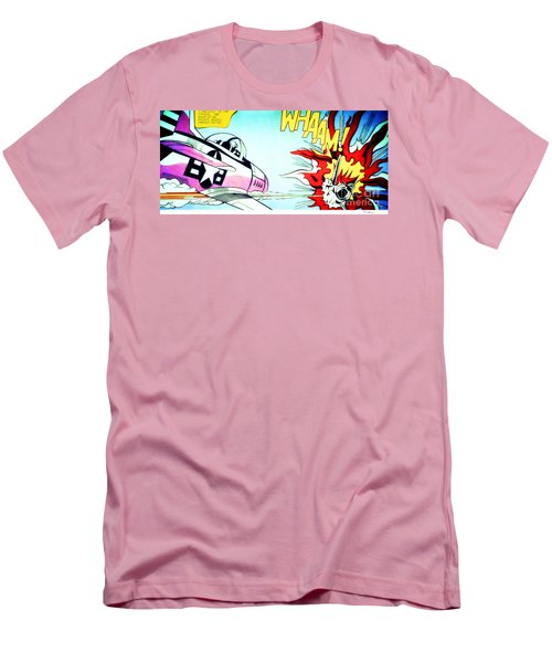 Whaam Men's T-Shirt (Athletic Fit)