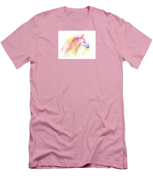 Whisper Men's T-Shirt (Slim Fit) by Elizabeth Lock