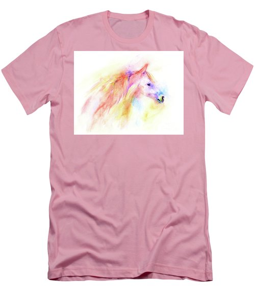Men's T-Shirt (Athletic Fit) featuring the painting Whisper by Elizabeth Lock