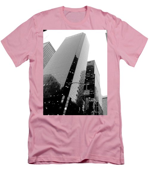 Men's T-Shirt (Slim Fit) featuring the photograph White And Black Inspiration  by Inga Kirilova