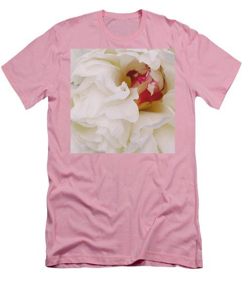 White Petals Men's T-Shirt (Athletic Fit)