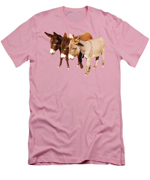 Wild Burro Buddies Men's T-Shirt (Athletic Fit)