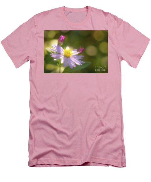 Wild Chrysanthemum Men's T-Shirt (Slim Fit) by Tatsuya Atarashi