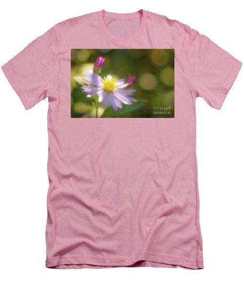 Men's T-Shirt (Slim Fit) featuring the photograph Wild Chrysanthemum by Tatsuya Atarashi