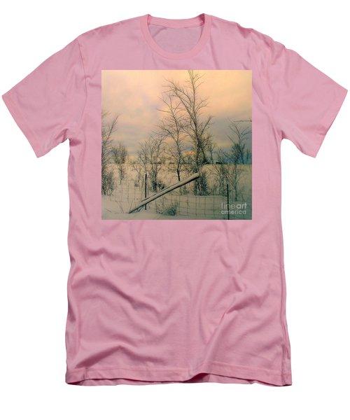 Winter's Face Men's T-Shirt (Slim Fit) by Elfriede Fulda