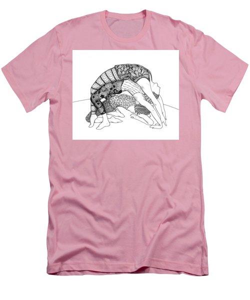 Yoga Sandwich Men's T-Shirt (Slim Fit) by Jan Steinle