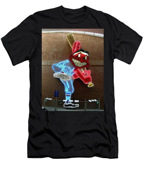 Chief Wahoo Men's T-Shirt (Athletic Fit)