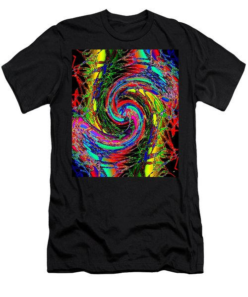 Abstract Fusion 215 Men's T-Shirt (Athletic Fit)