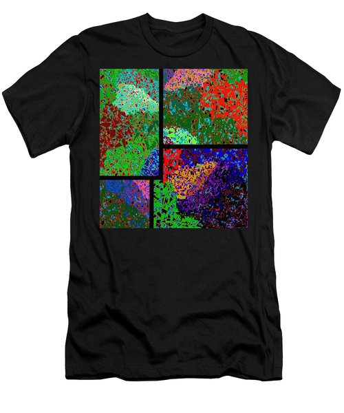 Abstract Fusion 86 Men's T-Shirt (Athletic Fit)