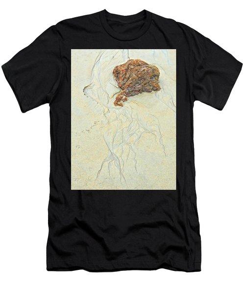Beach Sand  2 Men's T-Shirt (Athletic Fit)