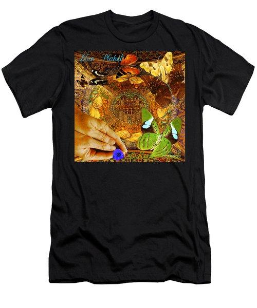 Civitate Dei   City Of God  Men's T-Shirt (Athletic Fit)