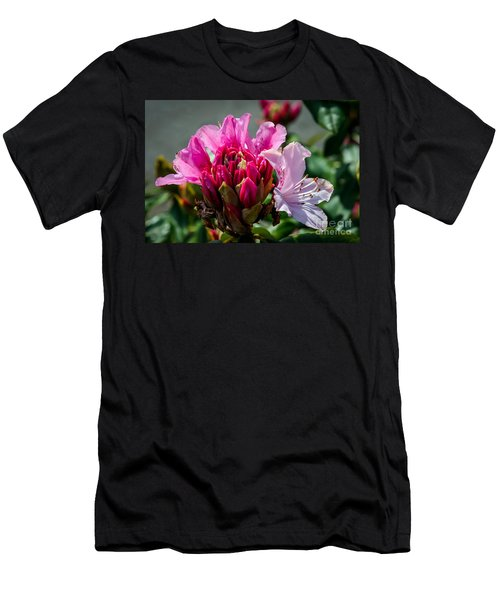 Coast Rhododendron Men's T-Shirt (Athletic Fit)