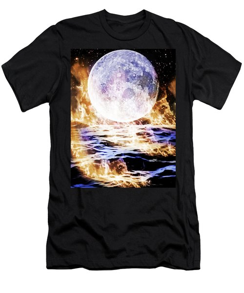 Emotions On Fire Men's T-Shirt (Athletic Fit)