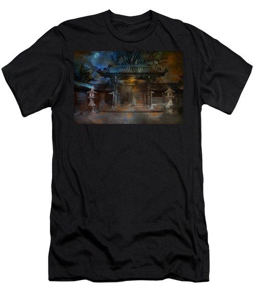 Gate..asian  Moon. Men's T-Shirt (Athletic Fit)