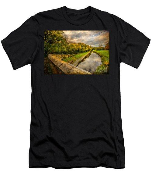 Llangollen Canal Men's T-Shirt (Athletic Fit)