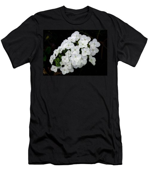 Oak Leaf Hydrangea Men's T-Shirt (Athletic Fit)