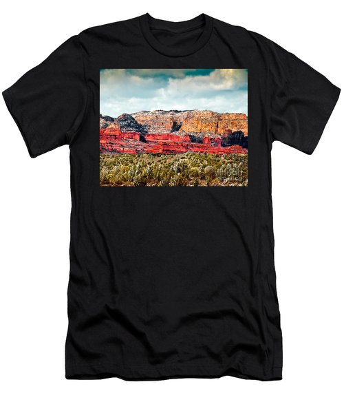 Secret Mountain Wilderness Sedona Arizona Men's T-Shirt (Athletic Fit)
