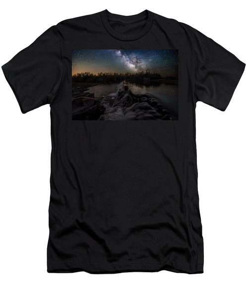 Split Rock Dreamscape Men's T-Shirt (Athletic Fit)