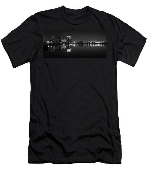 Sugar Glow Bw Men's T-Shirt (Athletic Fit)