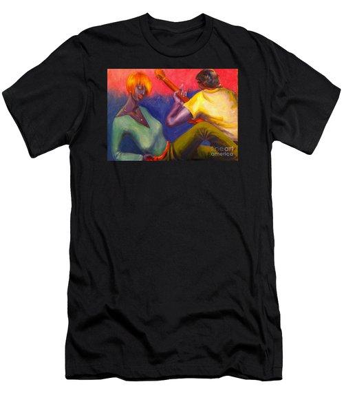 Sunset Serenade Men's T-Shirt (Athletic Fit)