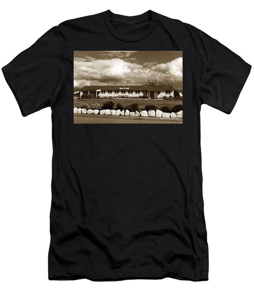The Fort Ord Station Hospital Administration Building T-3010 Building Fort Ord Army Base Circa 1950 Men's T-Shirt (Athletic Fit)