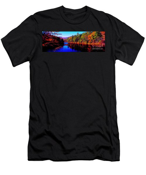 White Mountians National Park Red Eagle Pond New Hampshire Men's T-Shirt (Athletic Fit)