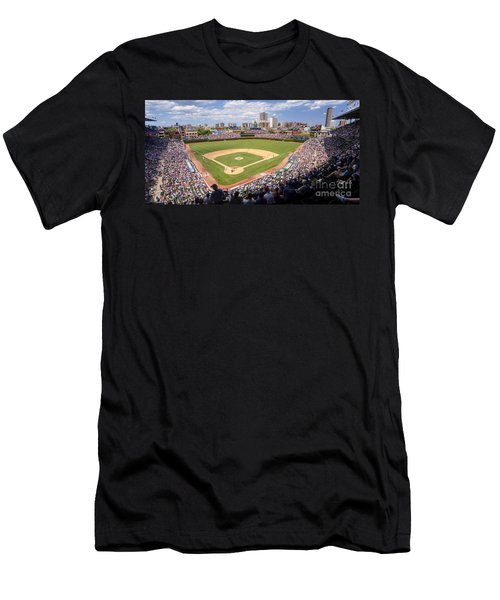 0100 Wrigley Field - Chicago Illinois Men's T-Shirt (Athletic Fit)