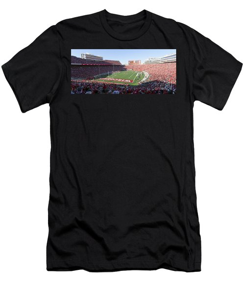 0251 Camp Randall Stadium - Madison Wisconsin Men's T-Shirt (Athletic Fit)