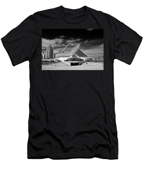 0352 Milwaukee Art Museum Infrared Men's T-Shirt (Athletic Fit)