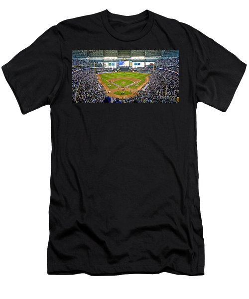 0546 Nlds Miller Park Milwaukee Men's T-Shirt (Athletic Fit)