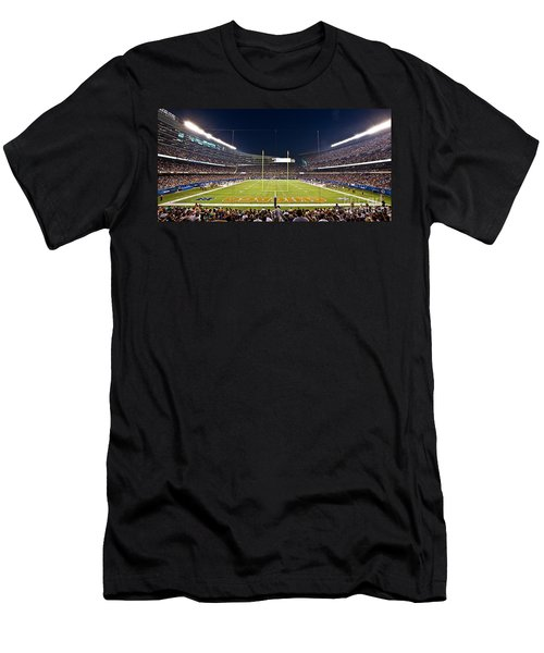 0587 Soldier Field Chicago Men's T-Shirt (Athletic Fit)