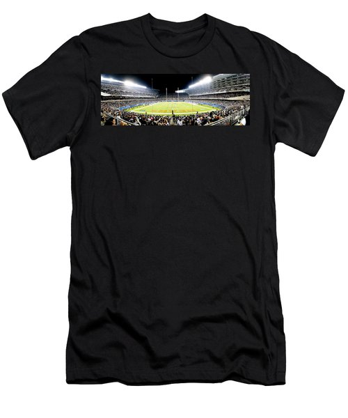0856 Soldier Field Panoramic Men's T-Shirt (Athletic Fit)