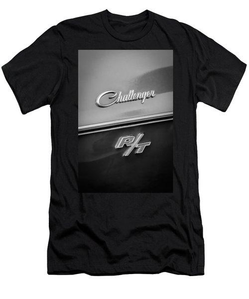 1970 Dodge Challenger Rt Convertible Emblem Men's T-Shirt (Athletic Fit)