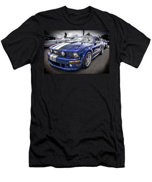 2008 Ford Shelby Mustang With The Roush Stage 2 Package Men's T-Shirt (Athletic Fit)