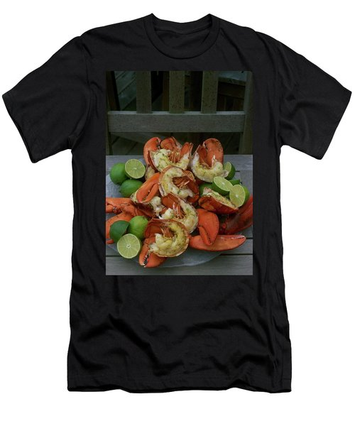 A Meal With Lobster And Limes Men's T-Shirt (Athletic Fit)