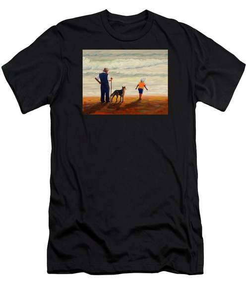 A Wish To The Waves, Peru Impression Men's T-Shirt (Athletic Fit)