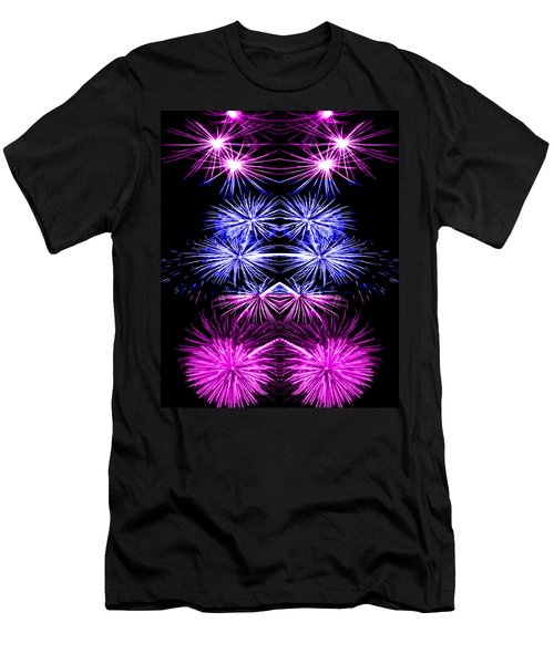 Abstract 135 Men's T-Shirt (Athletic Fit)
