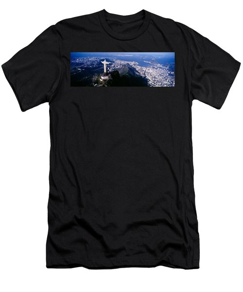 Aerial, Rio De Janeiro, Brazil Men's T-Shirt (Athletic Fit)